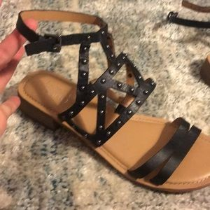 Gently used Franco Sarto Gladiator Sandals